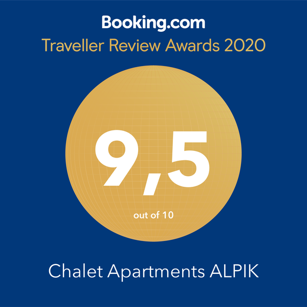 Chalet Alpik 9.5 Traveller Award